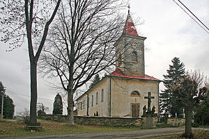 Kunvald - St. George church in Kunvald