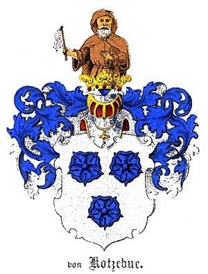 Otto von Kotzebue - Coat of arms of Kotzebue family
