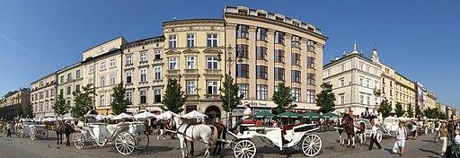 Krakow Rynek Glowny panorama 1