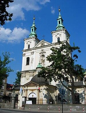 Royal Road, Kraków - St. Florian's Church