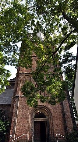 Kirchplatz in Krefeld
