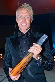 André Pops Swedish television host
