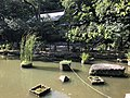 Kudokuike Pond and Mikka Ebisu Shrine in Sumiyoshi Shrine 2.jpg