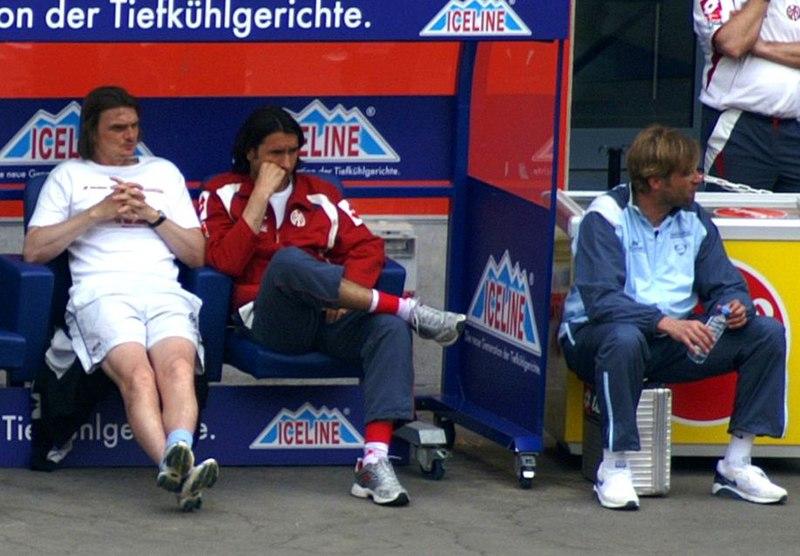 Trainer Jürgen Klopp in Mainz