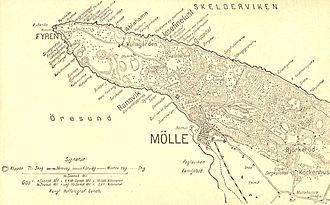 Kullaberg - Kullaberg map