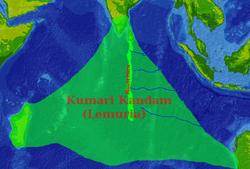 El lémur. El continente perdido Lemuria.