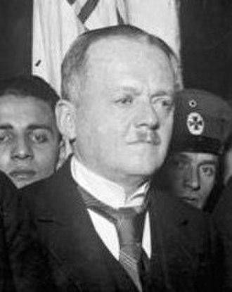 German federal election, 1928 - Image: Kuno von Westarp
