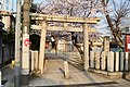 Kusumoto-jinja (Kita-kinomoto, Yao), torii.jpg