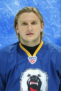 Oleg Kvasha Russian ice hockey player