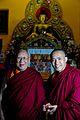 Kyabje Khensur Kangurwa Lobsang Thubten Rinpoche and Geshe Jampa Gyaltsen.jpg