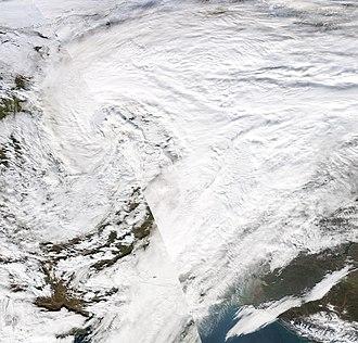 Cyclone Kyrill - Image: Kyrill 19 January 2007