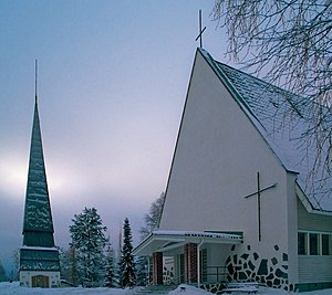 Kyyjärvi - Kyyjärvi church.