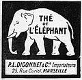 L'ILLUSTRATION No3910 9 Février 1918, Thé de l'Eléphant.jpg