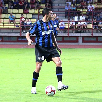 Lúcio - Lúcio playing for Inter in 2009