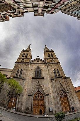 Cómo llegar a Iglesia La Recoleta en transporte público - Sobre el lugar