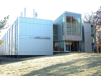 Lamont–Doherty Earth Observatory - The Gary C. Comer Geochemistry Laboratory Building, home of the Geochemistry Division at the Lamont–Doherty Earth Observatory