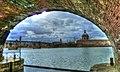 La Grave depuis l'écluse de sortie du Canal de Brienne.jpg