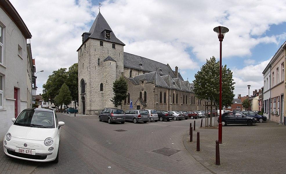 Saint-Nicolas church in La Hulpe, Belgium