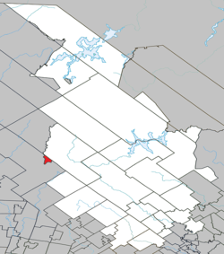 Location within Matawinie RCM.