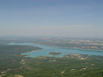 Lake of Sainte-Croix - Image: Lac Ste Croix 1