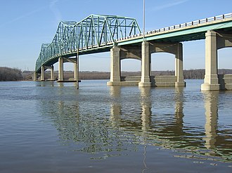 Lacon, Illinois - Image: Lacon Bridge 1