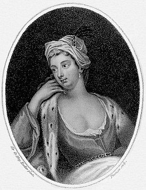 Variolation - Portrait of Lady Mary Wortley Montagu