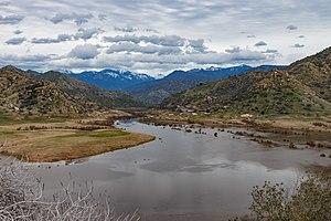 Kaweah River - Lake Kaweah is the only major reservoir on the Kaweah River.