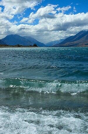 Lake Ohau - Image: Lake Ohau