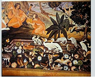 Lakshmana - Lakshmana present wild fruits to rama