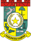 Official seal of Kampar Regency