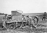 Lanchester armoured car, IWM Q 50674.jpg