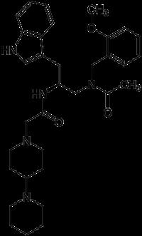 Strukturformel von Lanepitant