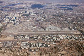 McCarran International Airport airport near Las Vegas, Nevada, United States