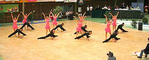 Formation dance - Latin Formation Team TSC Blau-Silber Aachen