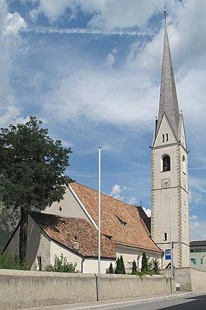 Latsch - Image: Latsch, Pfarrkirche St. Peter und Paul Dm 15654 foto 2 2012 08 12 14.24