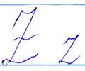 Latvian alphabet z.jpg