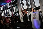 Laura Mvula performing at the Shard in London, as part of -SheWill.jpg