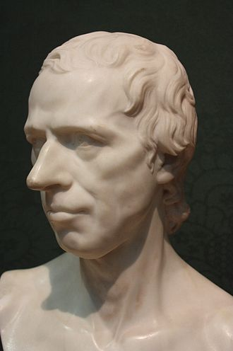 Laurence Sterne - Laurence Sterne by Joseph Nollekens, 1766, National Portrait Gallery, London