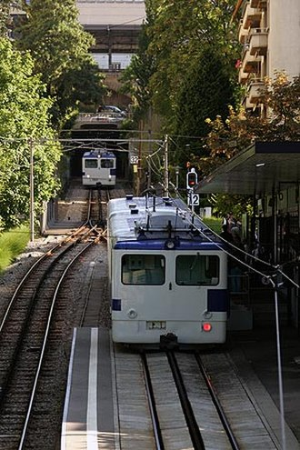 Lausanne Metro - Former Lausanne-Ouchy metro