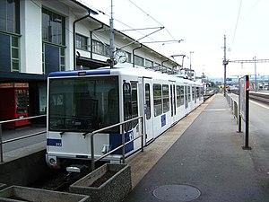 Renens CFF station - M1 terminal platforms