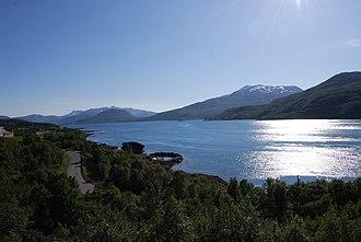 Tjeldsundet - Image: Lavansfjorden (1)