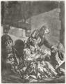 Le Fermier brûlé ou la famille pauvre - François Philippe Charpentier.png