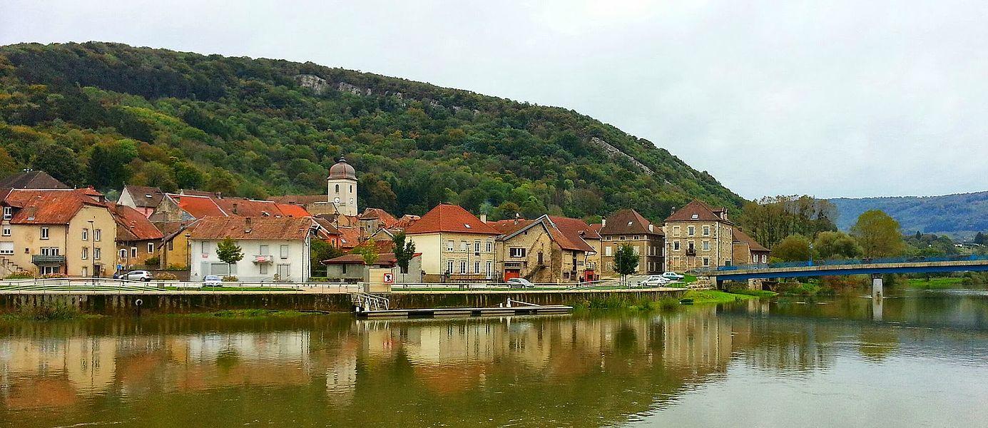 Le pittoresque village de Clerval