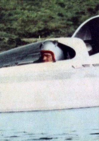 Water speed record - Lee Taylor (USA), 1967-06-30, 285.22 mph on Hustler (Lake Guntersville).