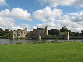 Kind Hearts and Coronets - Leeds Castle, which served as the ancestral home of the D'Ascoyne family.