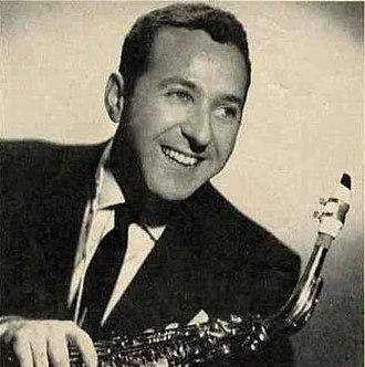 """Lenny Hambro - Lenny Hambro in 1957 with his Martin """"Magna"""" Alto Sax and Brilhart """"Tonalin"""" mouthpiece."""