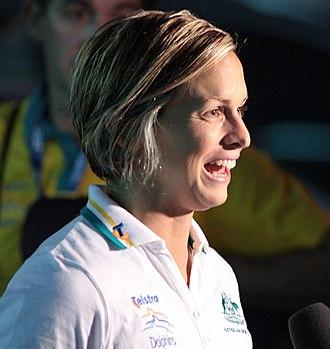 Libby Trickett - Trickett at the 2009 FINA World Championships
