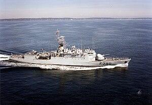 D'Estienne d'Orves-class aviso - Image: Lieutenant de vaisseau Lavallée