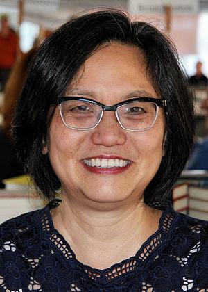 Linda Sue Park - Linda Sue Park at the 2014 Texas Book Festival.