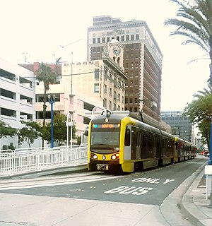 Blue Line (Los Angeles Metro) Metro line from Los Angeles to Long Beach